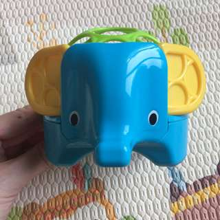 Richell Oball Rollie Rattle Elephant