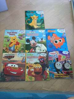 Children's Books (no Poingo pen) x 7pcs