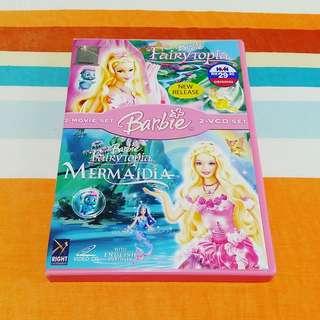 Barbie Fairytopia + Mermaidia 2-Movie Set VCD #Ramadan50