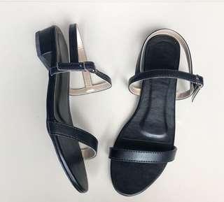 Black Block Heels (1inch)