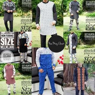 Kurta Set Baju Melayu Raya