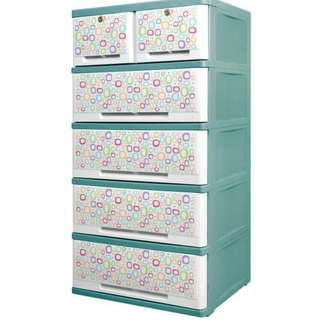 Orocan Caha De Ultimo 5L Drawer w/ Keys - Green