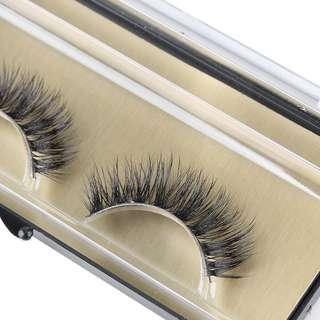 🌸 1 pair Natural Mink eyelash