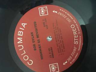 Bob Dylan Highway 61 Revisited Vinyl  first U.S stereo