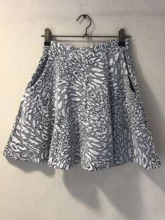 Topshop Skater Skirt (Thick Fabric)