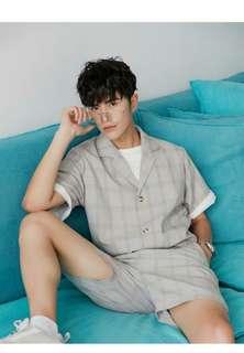 [FREE MAIL] Korean Youthful Retro Suit