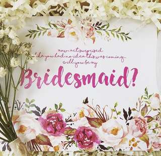 Bridesmaids Cards $2.50-$15
