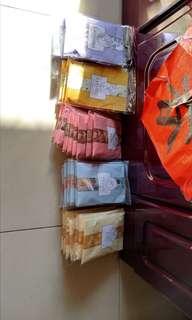 🚚 一組5包香氛包可掛式。可以掛衣櫥廁所廚房客廳