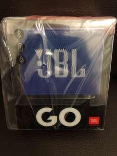 BNIB JBL GO Portable Bluetooth Speaker (Blue)