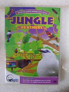 Wink to Learn Animal DVD Series - Jungle Feathers