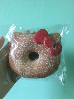 Hello Kitty Powdered Donut