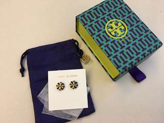 Tory Burch 耳環 earrings new — 不議價