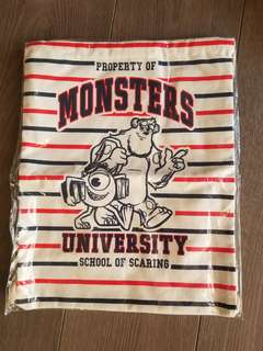 怪獸公司索袋 Monsters University Bag