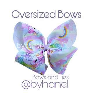 Oversized Bows