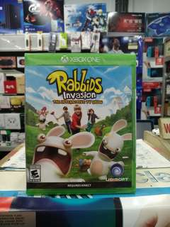 🆕 Xbox One Rabbids Invasion The Interactive TV Show
