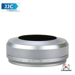 II Lens Hood for Fuji Fujifilm X100T X100S x100 (Silver/Black)