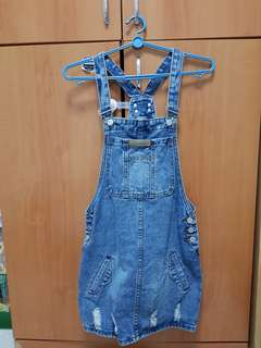Fast Deal Ladies Denim Overalls