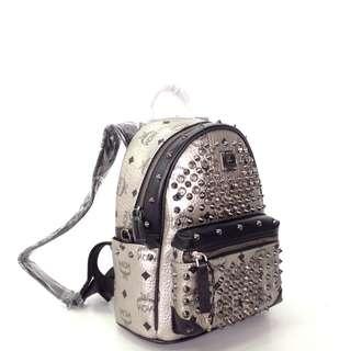 MCM Diamond Visetos Backpack Small