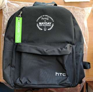 Mayday x HTC limited edition backpack 極致限量版背囊