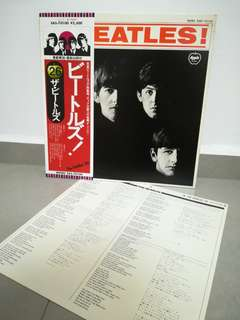Beatles Vinyl Lp Record