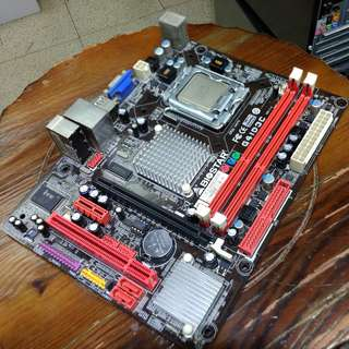 Intel Core 2 Quad Q8200 + Biostar G41D3C Motherboard