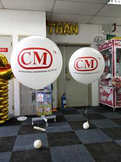 Promotional helium balloon for events