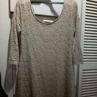 HM Lace Dress-Plus Size