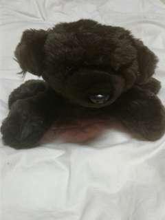 Blue Magic Black Dog Stuffed Toy