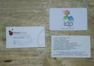 Printing Services Stickers Labels Calling Cards or Business Cards; Event Stabs (perforated)
