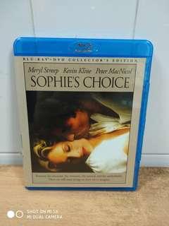 Sophie's Choice - Blu Ray & DVD - US Import (original)