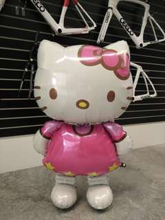 Hello kitty jumbo helium balloon