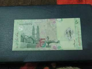 RM5 Replacement note ZA00