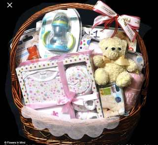 New mom and or Baby Hamper service