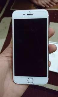 Iphone 6s 64 gb rose gold Garansi INTERNASIONAl