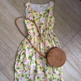 Floral Dress from Korea