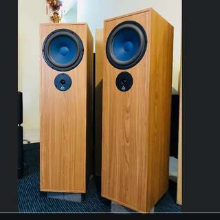 Audio Note AZ two hemp loudspeakers