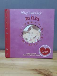 Why I Love My Mum (English Book)