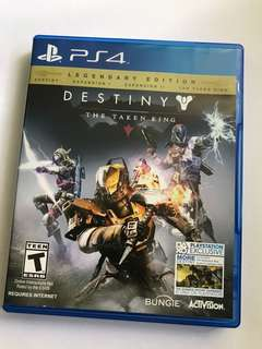 Destiny PS4 Disc