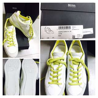 Hugo Boss White Leather Sneakers