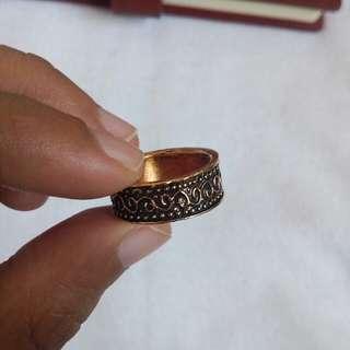 Vintage Boho Golden Ring