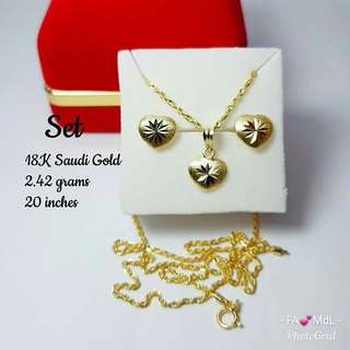 18K Saudi Gold Sets