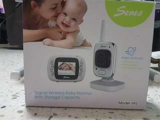 Seneo Wireless Baby Monitor Camera with Remote Home Monitoring System