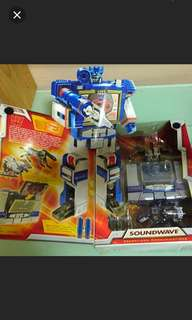 Transformers Soundwave Action Figures & Collectibles
