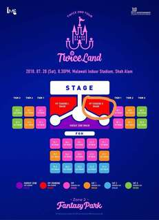TWICELAND KL 2018 (VIP STANDING)