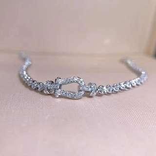 18k鑽石手鏈(1條)
