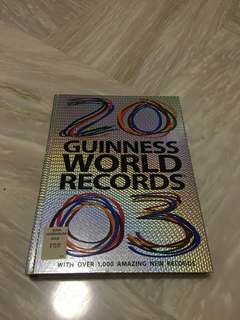 2003 Guiness World Record - vintage boom