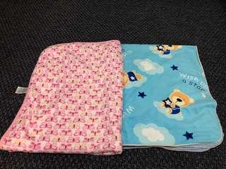 selimut bulu bayi 2in1