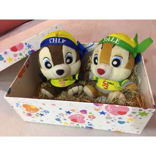 Disney 迪士尼 玩偶禮盒 奇奇蒂蒂 娃娃 布偶