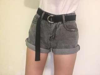 📸[實穿]黑反折短褲