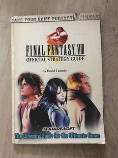 Final Fantasy VIII Official Strategy Guide (BRADYGAMES)